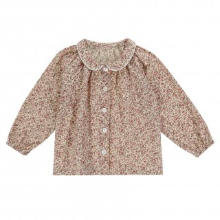 <img class='new_mark_img1' src='https://img.shop-pro.jp/img/new/icons14.gif' style='border:none;display:inline;margin:0px;padding:0px;width:auto;' />19AW Little Cotton Clothes<BR>Annie Blouse / Pink Floral