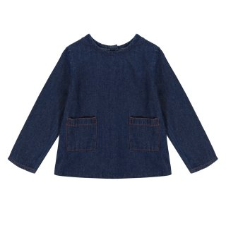 <img class='new_mark_img1' src='https://img.shop-pro.jp/img/new/icons20.gif' style='border:none;display:inline;margin:0px;padding:0px;width:auto;' />40%OFF Little Cotton Clothes - St Ives Shirt / Denim 3-4Y