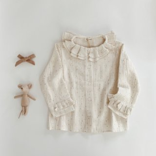 <img class='new_mark_img1' src='https://img.shop-pro.jp/img/new/icons14.gif' style='border:none;display:inline;margin:0px;padding:0px;width:auto;' />19AW marsou<BR>Aurelia Blouse / golden dots