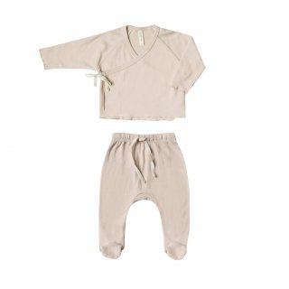 <img class='new_mark_img1' src='https://img.shop-pro.jp/img/new/icons14.gif' style='border:none;display:inline;margin:0px;padding:0px;width:auto;' />Quincy Mae<BR>Kimono Top + Footed Pant SET / Rose