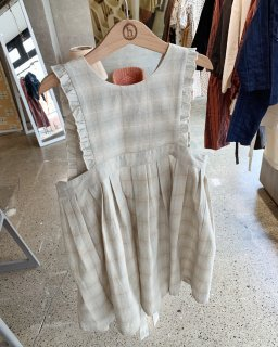 <img class='new_mark_img1' src='https://img.shop-pro.jp/img/new/icons14.gif' style='border:none;display:inline;margin:0px;padding:0px;width:auto;' />himher apron dress / shadow check