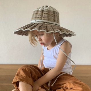 <img class='new_mark_img1' src='https://img.shop-pro.jp/img/new/icons14.gif' style='border:none;display:inline;margin:0px;padding:0px;width:auto;' />Lorna Murray - Capri Hat / Sandbar (Childrens)
