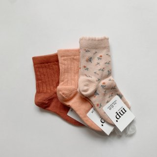 <img class='new_mark_img1' src='https://img.shop-pro.jp/img/new/icons14.gif' style='border:none;display:inline;margin:0px;padding:0px;width:auto;' />mp Denmark<BR>Short Socks / aragon, coral, rose dust