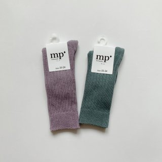 <img class='new_mark_img1' src='https://img.shop-pro.jp/img/new/icons14.gif' style='border:none;display:inline;margin:0px;padding:0px;width:auto;' />mp Denmark<BR>Knee-high Socks / soft lavender, stormy sea