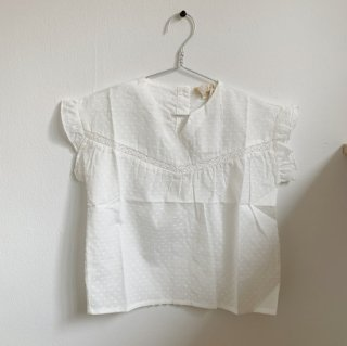 <img class='new_mark_img1' src='https://img.shop-pro.jp/img/new/icons20.gif' style='border:none;display:inline;margin:0px;padding:0px;width:auto;' />30%OFF 20SS Marlot - blouse SUZETTE / White 4y,6y,8y