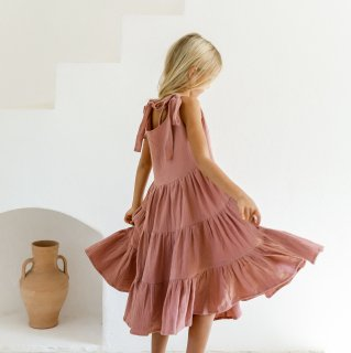 Yoli&Otis - JAANA DRESS | BLUSH 7Y