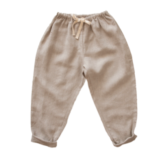 <img class='new_mark_img1' src='https://img.shop-pro.jp/img/new/icons14.gif' style='border:none;display:inline;margin:0px;padding:0px;width:auto;' />illoura the label - Linen pant / Oat