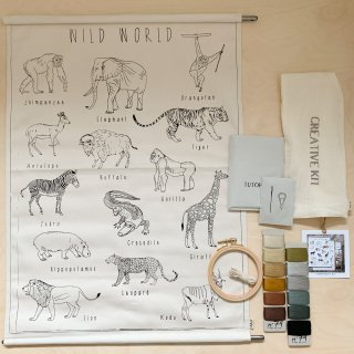 <img class='new_mark_img1' src='https://img.shop-pro.jp/img/new/icons14.gif' style='border:none;display:inline;margin:0px;padding:0px;width:auto;' />Numero74 - School Poster Kit Wild Animals