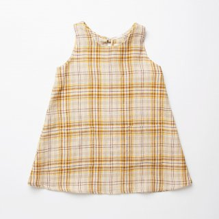 <img class='new_mark_img1' src='https://img.shop-pro.jp/img/new/icons14.gif' style='border:none;display:inline;margin:0px;padding:0px;width:auto;' />Nellie Quats - Tip Toe Dress / Buttermilk Plaid Linen