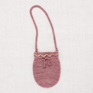 <img class='new_mark_img1' src='https://img.shop-pro.jp/img/new/icons14.gif' style='border:none;display:inline;margin:0px;padding:0px;width:auto;' />Misha and Puff - Crochet Shoulder Bag / Antique Rose