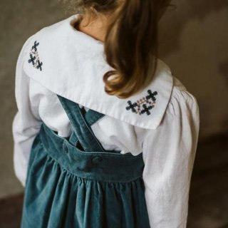 <img class='new_mark_img1' src='https://img.shop-pro.jp/img/new/icons14.gif' style='border:none;display:inline;margin:0px;padding:0px;width:auto;' />Little Cotton Clothes - Sidonie sailor blouse / cross stitch collar