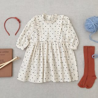 <img class='new_mark_img1' src='https://img.shop-pro.jp/img/new/icons14.gif' style='border:none;display:inline;margin:0px;padding:0px;width:auto;' />SOOR PLOOM - Percy Dress / Swiss Dot