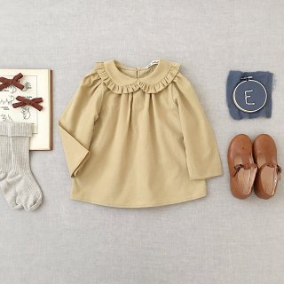 <img class='new_mark_img1' src='https://img.shop-pro.jp/img/new/icons14.gif' style='border:none;display:inline;margin:0px;padding:0px;width:auto;' />SOOR PLOOM - Astrid Blouse / Maize