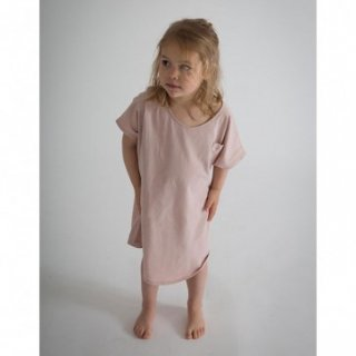 last1!! Gray Label Oversized Tee Dress Vintage Pink