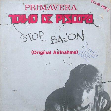 tullio de piscopo stop bajon primavera 12 single