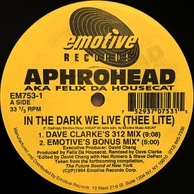 Aphrohead / In The Dark We Live (Thee Lite) (12