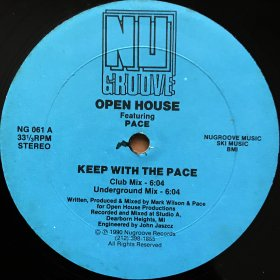 Open House featuring Pace / Keep With The Pace (12
