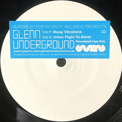 Glenn Underground / Moog Vibrations w/ Urban Flight To Atiner (12