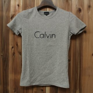 <img class='new_mark_img1' src='//img.shop-pro.jp/img/new/icons5.gif' style='border:none;display:inline;margin:0px;padding:0px;width:auto;' />Calvin Klein Jeansカルバンクラインジーンズ/クルーネック 半袖Tシャツ ストレッチ レディースS 50