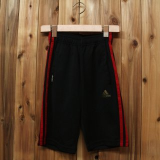 <img class='new_mark_img1' src='//img.shop-pro.jp/img/new/icons5.gif' style='border:none;display:inline;margin:0px;padding:0px;width:auto;' />adidas アディダス/軽量 ハーフジャージ climalite 黒 kids130  126