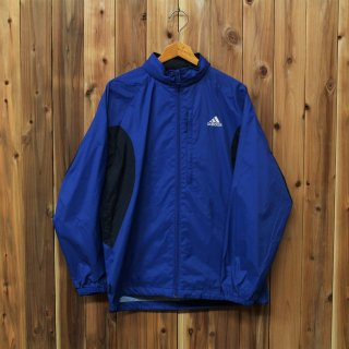 <img class='new_mark_img1' src='//img.shop-pro.jp/img/new/icons5.gif' style='border:none;display:inline;margin:0px;padding:0px;width:auto;' />adidas アディダス/Clima365 ウインドブレーカー フード収納 撥水加工 ブルー kids160  272