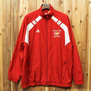 <img class='new_mark_img1' src='//img.shop-pro.jp/img/new/icons5.gif' style='border:none;display:inline;margin:0px;padding:0px;width:auto;' />adidas アディダス/スポーツウエア ジップアップジャケット 裏メッシュ ウインドブレーカー メンズ0 RED 473