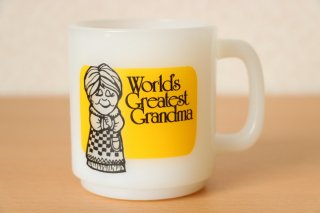 グラスベイク World's Greatest Grandma マグ