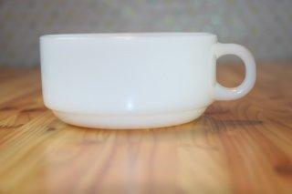 グラスベイク スープカップ ホワイト