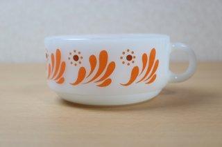 グラスベイク Splashy Orange スープカップ