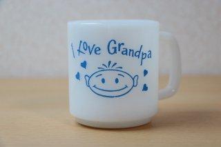 グラスベイク I Love Granpa マグ