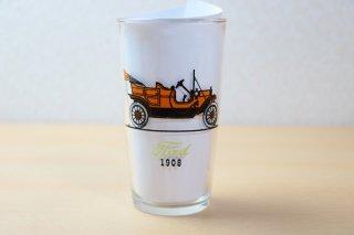 ヘーゼルアトラス Old Cars ハイボールタンブラー オレンジ