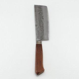 青紙鋼 口金付梨地洋包丁 東型150mm