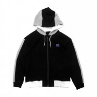 REMERA - 7th MESH SWITCH PARKA(BLACK)