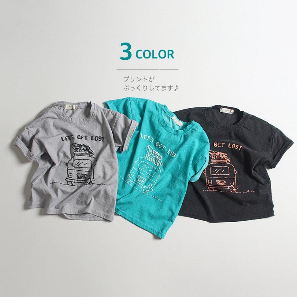 FFB)☆夏最新作☆ぷっくり車Tシャツ【お取り寄せ】