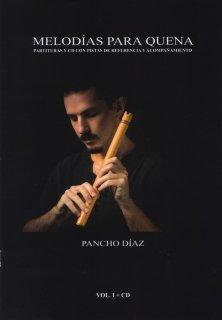 パンチョ・ディアス著 / ケーナのためのメロディー VOL.1(模範演奏CD付属) [輸入書籍]