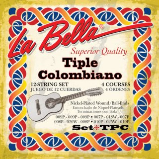 ティプレ・コロンビアーノ弦セット LA BELLA /  [米国製]