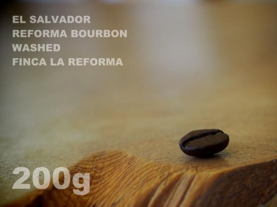 エルサルバドル レフォルマ ブルボン ウォッシュド ラ・レフォルマ農園 【200g】