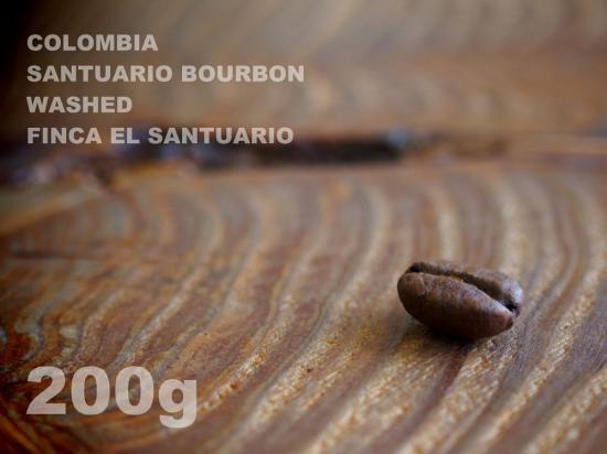 コロンビア サントゥアリオ ブルボン ウォッシュド サントゥアリオ農園 【200g】