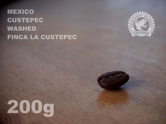 メキシコ クステペック ウォッシュド ラ・クステペック農園 【200g】