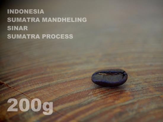 インドネシア スマトラ マンデリン シナール スマトラ・プロセス 【200g】