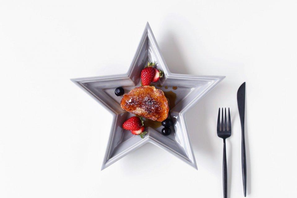 【取扱い終了】Twinkle Star Plate/グレー/Sサイズ
