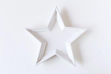 【取扱い終了】Twinkle Star Plate/ホワイト/Lサイズ