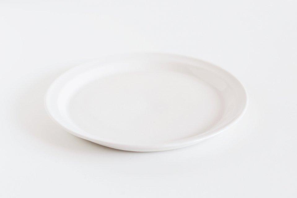 【取り扱い終了】岡澤悦子/ホットケーキのお皿(スノー)