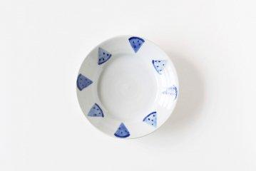【次回再入荷時期未定】日下華子/すいか/5.5寸皿(直径16.5cm)
