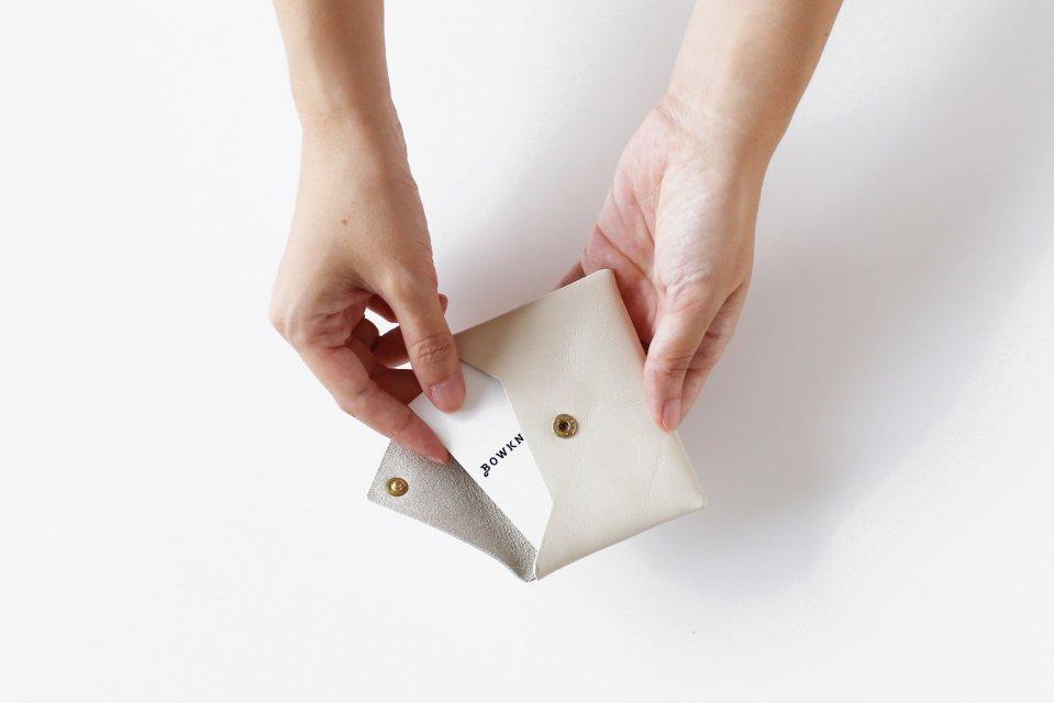 CINQ/カードケース(アイボリー)