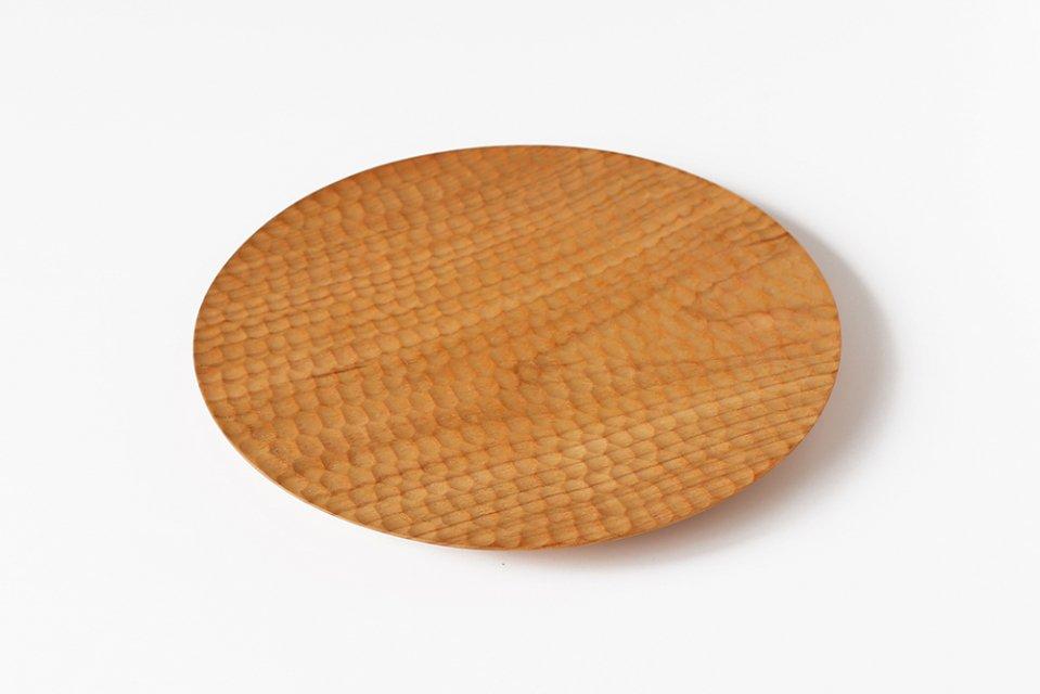 高塚和則/さくらのパン皿(直径24cm)