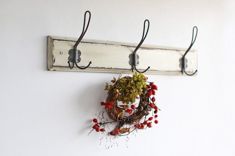 【数量限定】増田由希子/鳥の巣リース(赤い実)
