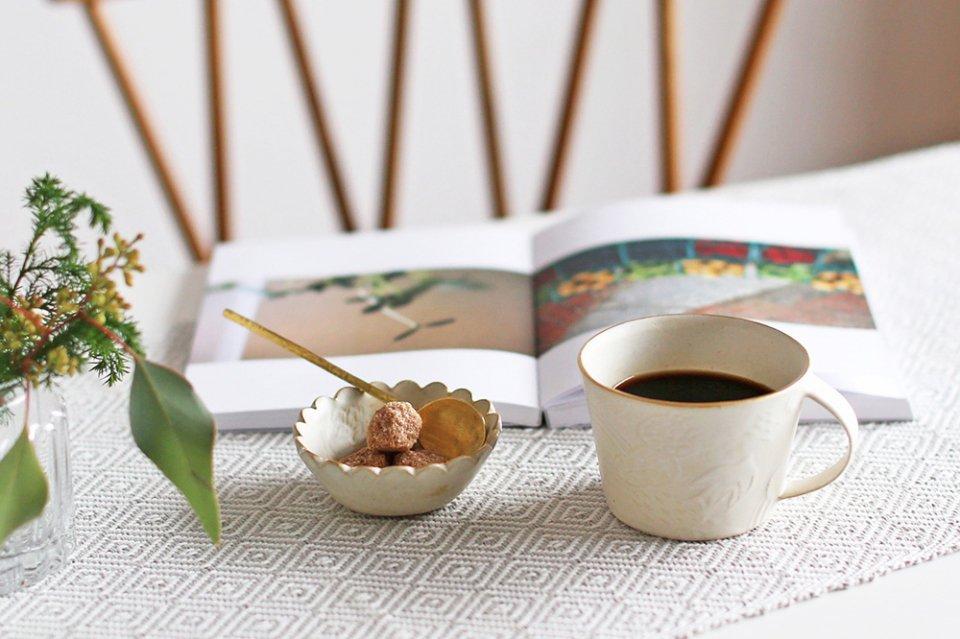 【次回再入荷時期未定】前田葉子/雨上がりの虹/豆鉢(8cm)