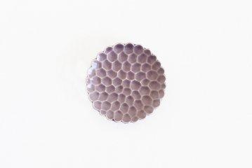 松平彩子/豆皿/紫