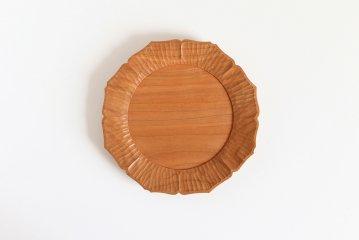 【次回再入荷時期未定】濱端弘太/チェリー/花6寸皿(直径18cm)